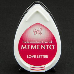 Memento Dew Drop inktkussen Love Letter MD-000-302