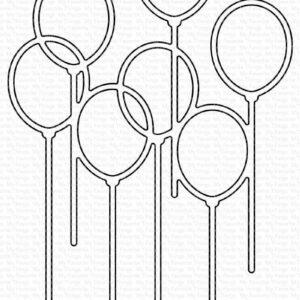 My Favorite Things Party Balloons Die-namics (MFT-1947)