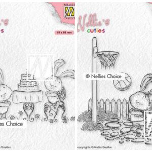 Nellies Choice - Cuties Volledige set van 6