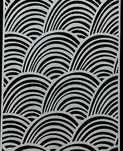 Picket Fence Studios Slim Line Rainbows Stencil (SC-203)