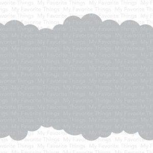 My Favorite Things Slimline Cloud Edges Stencil (ST-149)