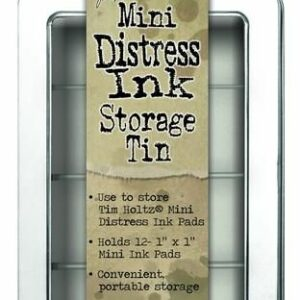 Ranger Mini Distress Ink Storage Tin TDA42013 Tim Holtz