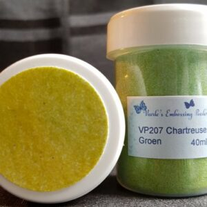 Veerle's embossing poeder Chartreuse Groen VP207 - 40 ml