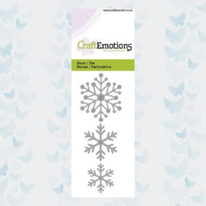 CraftEmotions Die - Sneeuw kristallen