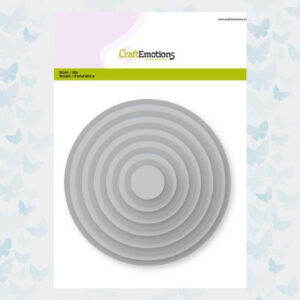 CraftEmotions Big Nesting Die - Cirkels 115633/0901