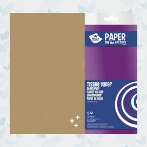 Haza Zijdevloei/Tissue Papier Goud 185971