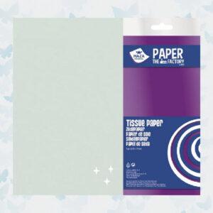Haza Zijdevloei/Tissue Papier Zilver 185973