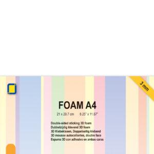JEJE Produkt 3D Foam Vel A4 - 3mm (3.3239)