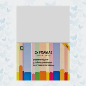 3D Foam A5 1mm 2 Sheets (3.3241)