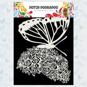 Dutch Doobadoo Dutch Mask Art Butterfly 470.715.170