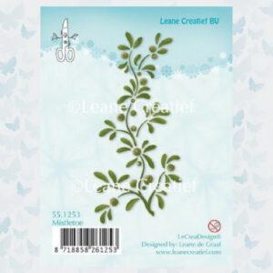 Leane Creatief Clear Stamp Mistletoe 55.1253