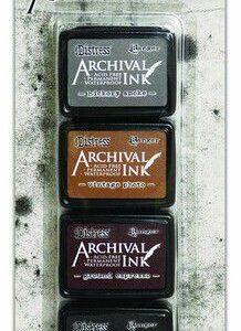Ranger Distress Archival Mini Ink Kit 3 AITK64848 Tim Holtz
