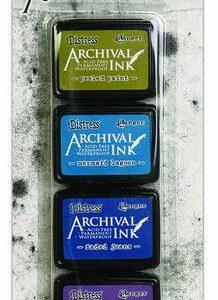 Ranger Distress Archival Mini Ink Kit 2 AITK64862 Tim Holtz