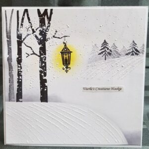 Card-io Clear Stempels Tall Trees
