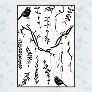 Card-io Clear Stamps Vines and Verdure CCSTVIN-03