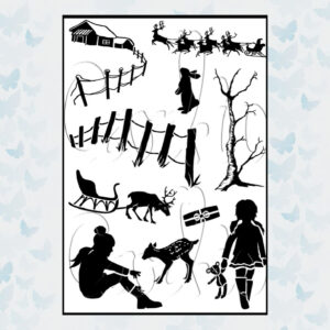 Card-io Clear Stamps Winter View CCSTWIN-19
