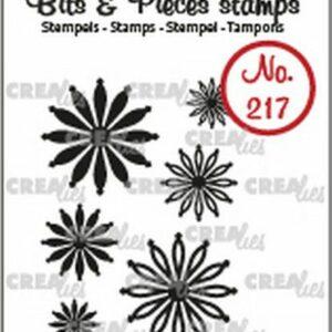 Crealies Bits & Pieces Mini bloemen 25 CLBP217
