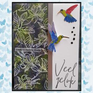 Marianne Design Clear Stamps Handgeschreven - Van Harte CS1049