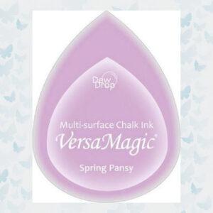 VersaMagic Dew Drop Spring Pansy GD-000-035