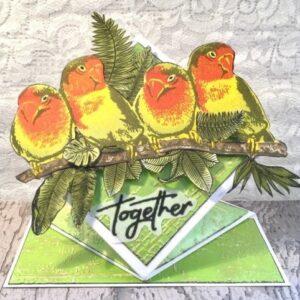 Gemini Birds of Love Elements Snijmal (GEM-D-ELE-BIRD)