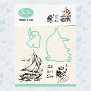 Nellies Choice Stamp&Die Boot HDCS001