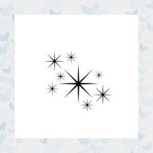 Lavinia Clear Stamp Stars 1 Miniature LAV211