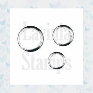 Lavinia Clear Stamp Bubbles LAV351