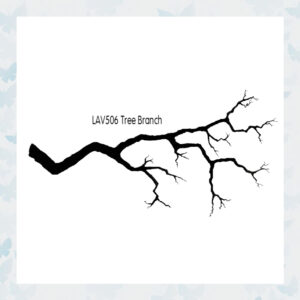 Lavinia Clear Stamp Tree Branch LAV506