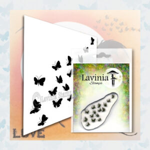 Lavinia Clear Stamps Flutterbies LAV556