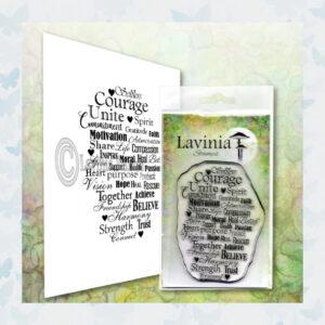 Lavinia Clear Stamp Keeping Faith LAV615