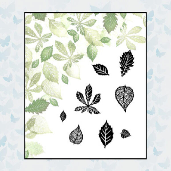 Majestix Clear Stamps Blown Away MABL-01