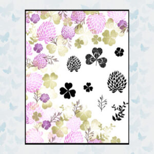 Majestix Clear Stamps Fields of Clover MAFI-02