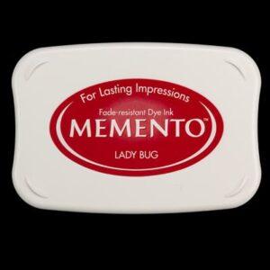 Memento inktkussen Large Lady Bug ME-000-300