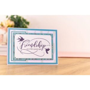 Crafter's Companion Sharon Callis From the Heart Clear Stamps Friendship (SCC-STP-FRIEND)