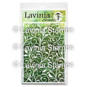 Lavinia Stencil Leaf Trails ST017