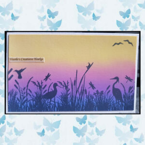 Creative Expressions Rubberen Stempel - Dragonfly Hideout SYR035