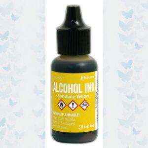 Ranger Alcohol Ink - Sunshine Yellow TAB25559 Tim Holz