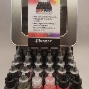 Ranger Alcohol Ink Storage Tin TAC58618 Tim Holtz