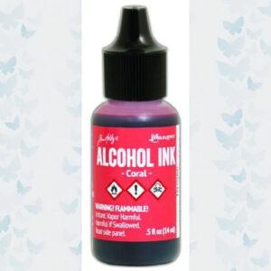 Ranger Alcohol Ink - Coral TAL59400 Tim Holz