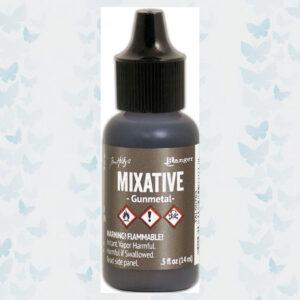 Ranger Alcohol Ink - Mixatives - Metallic Gunmetal TAL59783