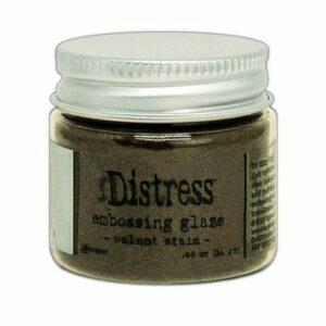 Ranger Distress Embossing Glaze Walnut Stain TDE71044