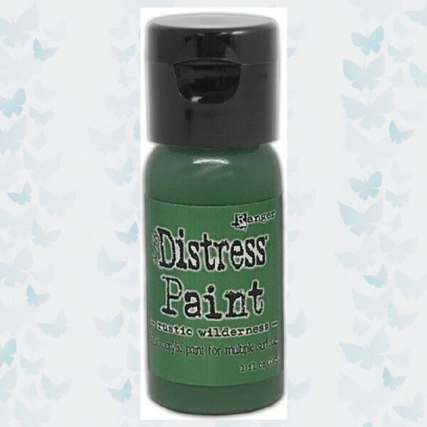Distress Paint Flip Cap Bottle - Rustic Wilderness TDF72843
