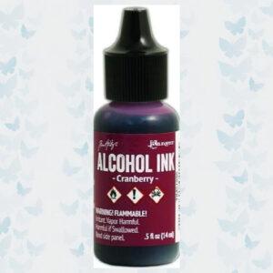 Ranger Alcohol Ink Cranberry TIM21995