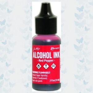 Ranger Alcohol Ink Red Pepper TIM22152 T