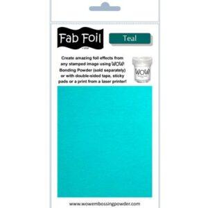Wow! Fab Foil Teal W216-BLG30