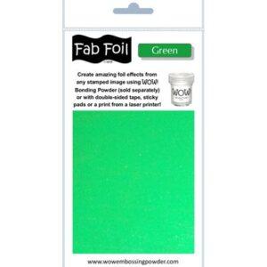 Wow! Fab Foil Green W216-GR80