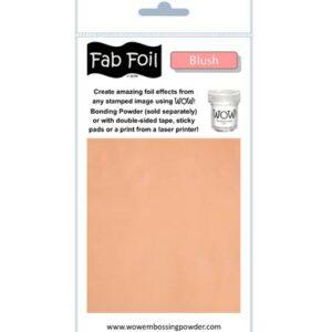 Wow! Fab Foil Blush W216-SAL30