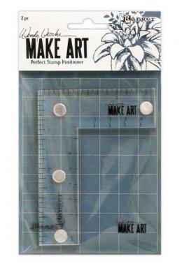 Ranger Wendy Vecchi Make Art * Perfect Stamp Positioner Set WVA69119
