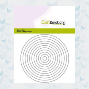 CraftEmotions Die - Randen recht cirkel 115633/0811
