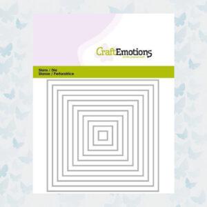 CraftEmotions Die - Randen recht vierkant 115633/0812